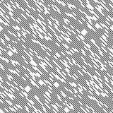 Sömlös diagonal linje modell Arkivbilder