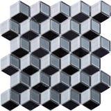 Sömlös diamant formad mosaisk modell Arkivfoton