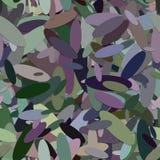 Sömlös ellipsbakgrundsmodell - grafisk design för vektor från färgrika ellipser med skuggaeffekt Royaltyfri Foto