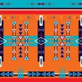 Sömlös etnisk stam- modellprydnad Arkivfoto