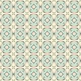 Sömlös färgad tegelplattamodell för tappning pastell Royaltyfria Bilder