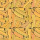 Sömlös färgmodell i form av pasta Royaltyfri Foto