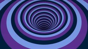 Sömlös färgrik abstrakt animeringhålbana i modell för textur för bakgrund för partikelljusbeståndsdel göra sammandrag rörelse stock illustrationer