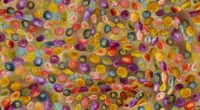 Sömlös färgrik abstrakt designbakgrund royaltyfri illustrationer
