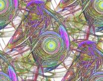 Sömlös färgrik abstrakt textur Royaltyfria Foton