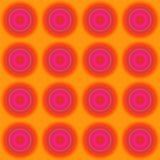 Sömlös färgrik modell för suddighet Arkivfoto