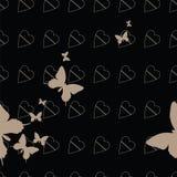 Sömlös fjäril 2 Arkivbild