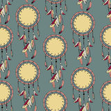 Sömlös flerfärgad abstrakt dekormodell Arkivbilder