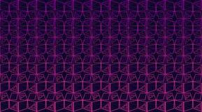 Sömlös flerfärgad geometrisk bakgrund stock illustrationer