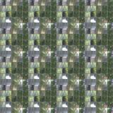 Sömlös fototextur av den lilla biten av spegelplattor för annons Arkivfoto