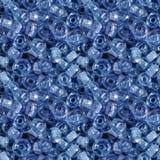 Sömlös fototextur av glass pärlor royaltyfri foto