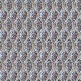 Sömlös fototextur av stålräcket på kall djupfryst jordning royaltyfri foto