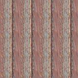 Sömlös fototextur av träplankor med röd olja royaltyfri bild