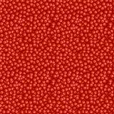 Sömlös fruktvektormodell, ljus röd bakgrund med granatäpplefrö Fotografering för Bildbyråer