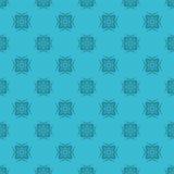 Sömlös geometrimodell för vektor royaltyfri illustrationer