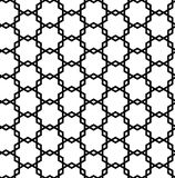 Sömlös geometrisk abstrakt modell Royaltyfri Foto