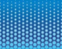 Sömlös geometrisk bakgrund med stjärnor Royaltyfria Bilder