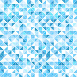 Sömlös geometrisk blå bakgrund - Royaltyfria Foton