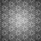Sömlös geometrisk blom- bakgrund Royaltyfri Foto