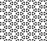 Sömlös geometrisk design för modellvektorbakgrund Royaltyfri Bild
