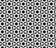Sömlös geometrisk design för modellvektorbakgrund Arkivfoto