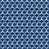 Sömlös geometrisk form illustartion Arkivfoto