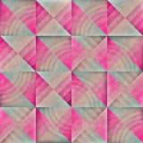 Sömlös geometrisk Grungemodell för raster Arkivfoton