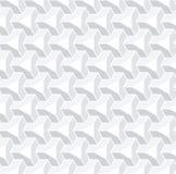Sömlös geometrisk isometrisk modell bakgrund för vit 3d stock illustrationer