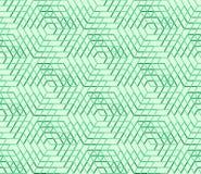 Sömlös geometrisk modell, abstrakt bakgrund för sexhörning, universell tapet för vektor Royaltyfri Illustrationer