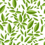 Sömlös geometrisk modell, gräsplansidor på vit Royaltyfri Foto