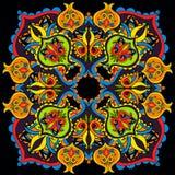 Sömlös geometrisk modell med färgrika beståndsdelar Royaltyfria Foton