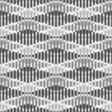 Sömlös geometrisk modell - rombbakgrund randig textur Royaltyfria Foton