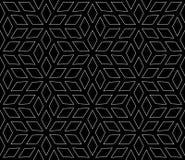 Sömlös geometrisk modell som utgöras av diamanter Royaltyfri Fotografi