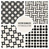 Sömlös geometrisk modellsamling för vektor Arkivfoto