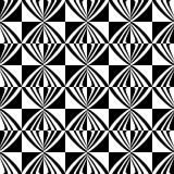 Sömlös geometrisk rutig modell stock illustrationer
