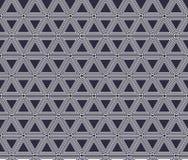 Sömlös geometrisk svartvit bandbakgrund, enkel modell Royaltyfri Fotografi