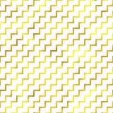 Sömlös geometrisk texturerad guld- modell för vektor vektor illustrationer
