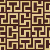 Sömlös geometrisk vektorbakgrund royaltyfri illustrationer