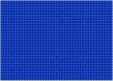 Sömlös gingham, blått Arkivbild