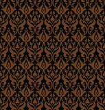 Sömlös gotisk vektormodell Royaltyfri Bild
