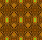 Sömlös gräsplan för apelsin för ellipsmodellbrunt Royaltyfri Foto