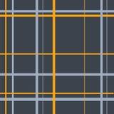 Sömlös grå skotsk traditionell cellmodell stock illustrationer