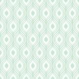Sömlös grön dekorativ modell för vektor - Royaltyfri Foto