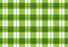 Sömlös grön tartan för vektor, tartanmodell Arkivfoton