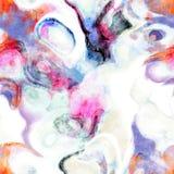 Sömlös grungevattenfärg Fotografering för Bildbyråer