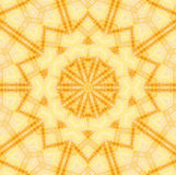 Sömlös gul brunt för stjärnamodell Arkivfoton