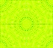 Sömlös gul gräsplan för stjärna- och cirkelmodell Royaltyfri Fotografi