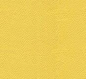 Sömlös gul lädertextur royaltyfri bild