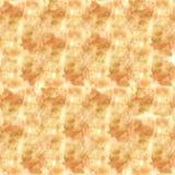 Sömlös guld- beige textur med borsteslaglängder: en kanfas med blek målarfärg markerar a Arkivfoto