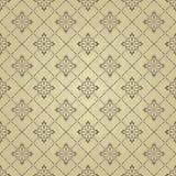 S?ml?s guld- damast design f?r dekor, textil, tyg, keramiskt, tapet eller bakgrund stock illustrationer